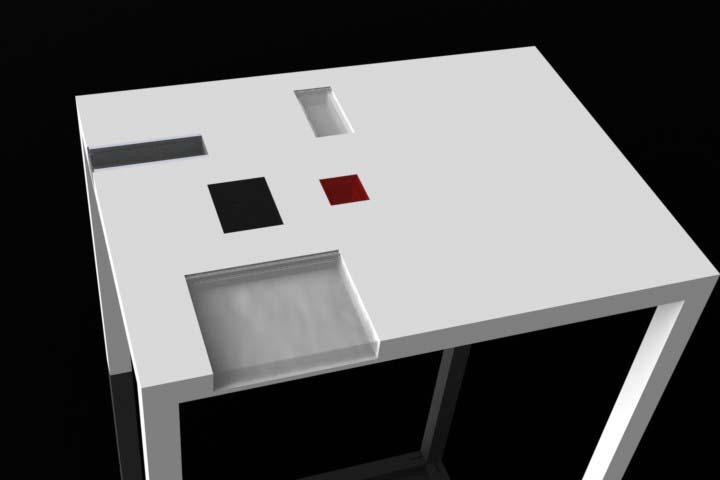 moderni stol po mjeri
